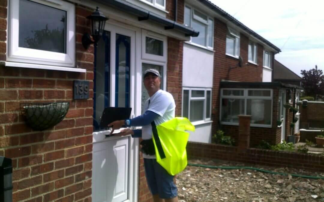 What is Door to Door Leaflet Distribution?