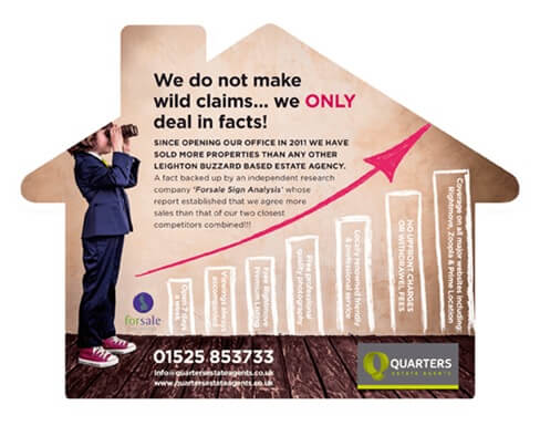 Letting agent flyers