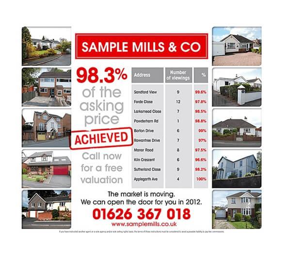 Estate Agent Leaflets