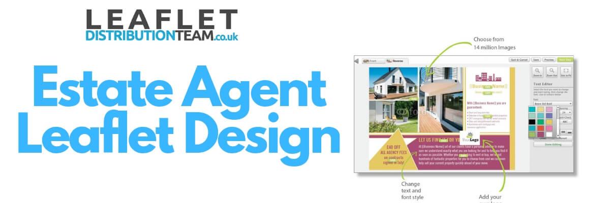 Estate Agent Leaflet design