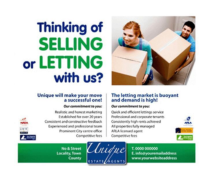 estate agent adverts