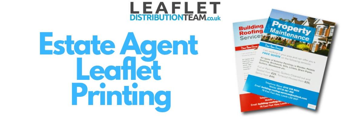 estate agent leaflet printing
