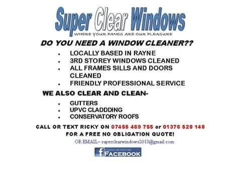 Window cleaning leaflets example 1