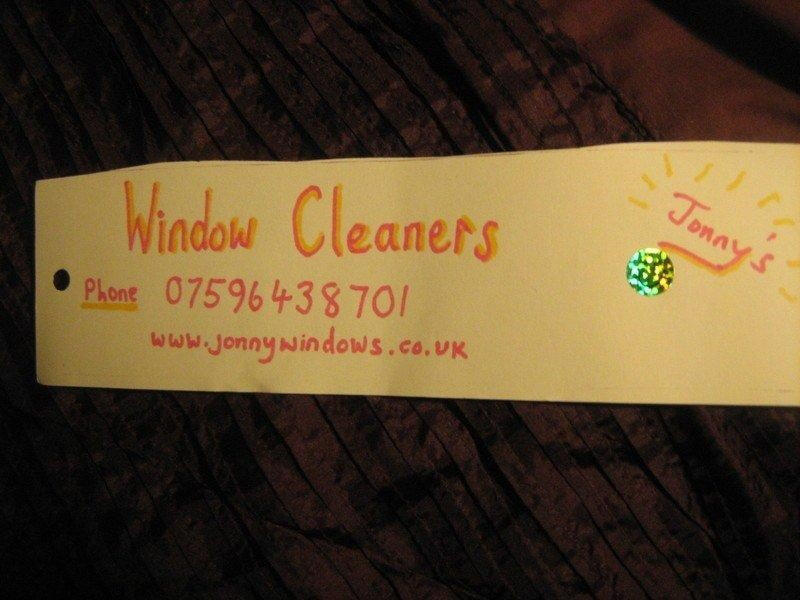 Window cleaning leaflets 3