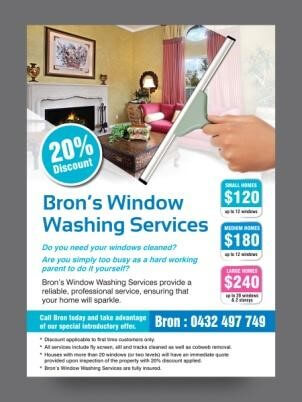 Window cleaning leaflets 7