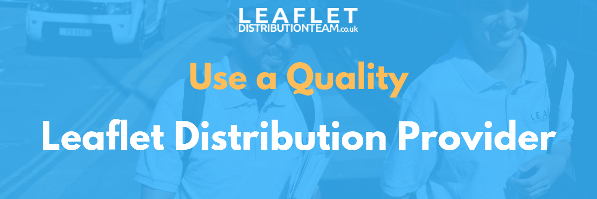 quality leaflet distribution service