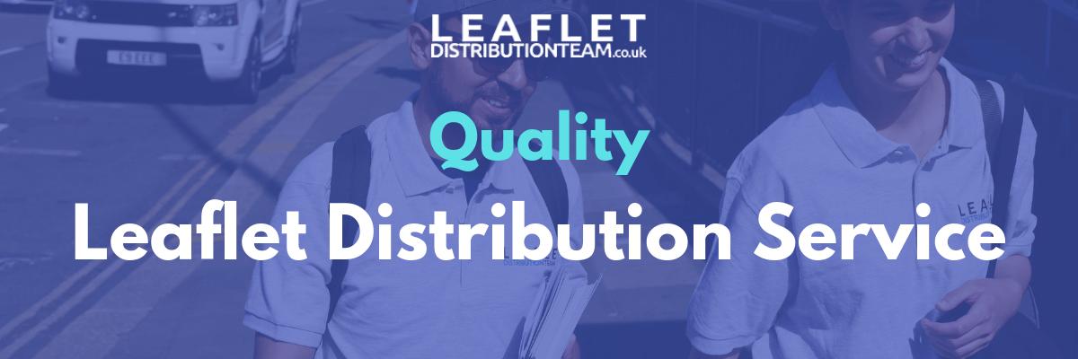 Quality leaflet distribution service