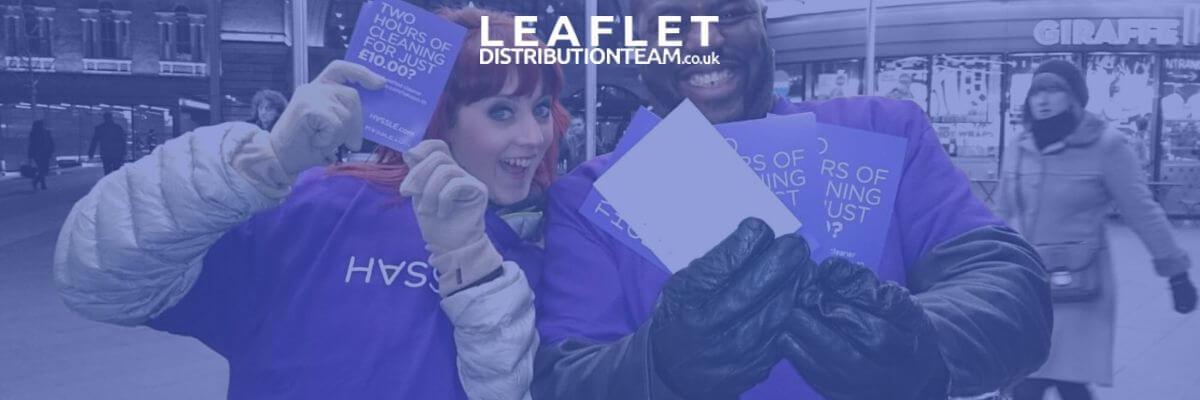 leaflet distribution for restaurants