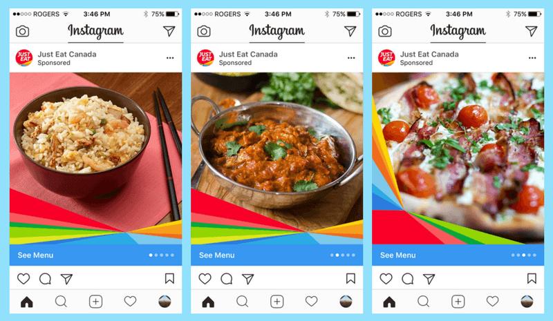 instagram for restaurants